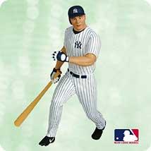 2003 Ballpark #8 - Jason Giambi - DB Hallmark Ornament