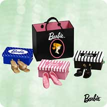 2003 Barbie - Shoe Shopping Hallmark Ornament