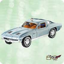 2003 Classic Cars #13 - 1963 Corvette - MNT Hallmark Ornament