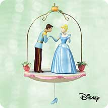 2003 Disney - Cinderella And Prince Charming Hallmark Ornament