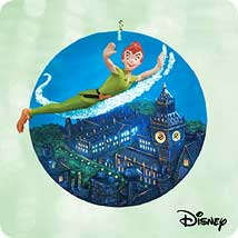 2003 Disney - Peter Pan London Hallmark Ornament