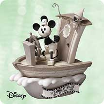 2003 Disney - Steamboat Willie Hallmark Ornament