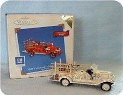2003 Fire Brigade #1 - 1929 Chevrolet  - Colorway - MIB Hallmark Ornament