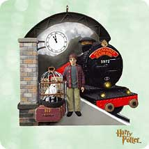 2003 Harry Potter - Platform 9 34 - DB Hallmark Ornament