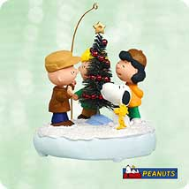 2003 Peanuts - Amazing Tree Hallmark Ornament