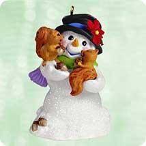 2003 Snow Buddies #6 - Squirrels Hallmark Ornament