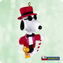 2003 Spotlight On Snoopy #6 - Joe Cool Hallmark Ornament
