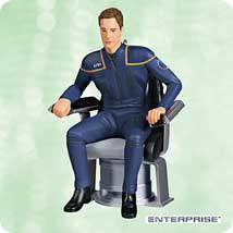 2003 Star Trek - Captain Archer Hallmark Ornament