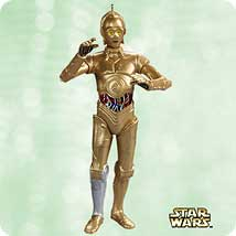 2003 Star Wars #7 - C-3po Hallmark Ornament