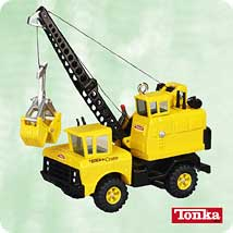 2003 Tonka - Mighty Crane - MNT Hallmark Ornament