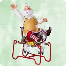 2003 Toymaker Santa #4 Hallmark Ornament
