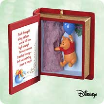 2003 Winnie The Pooh - Book #6 Hallmark Ornament