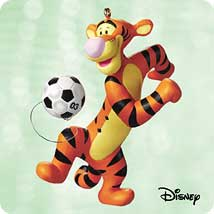 2003 Winnie The Pooh - Soccer With Tigger Hallmark Ornament