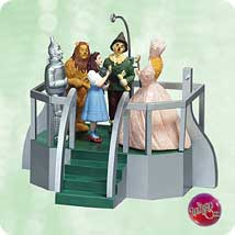 2003 Wizard Of Oz - Click Your Heels - MNT Hallmark Ornament
