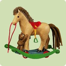 2004 A Pony For Christmas #7 Hallmark Ornament