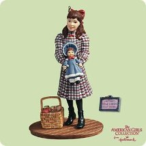 2004 American Girl - Samantha - DB Hallmark Ornament