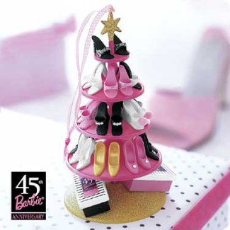 2004 Barbie - Shoe Tree Hallmark Ornament