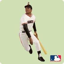 2004 Baseball - Willie Mays - MNT Hallmark Ornament