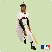 2004 Baseball - Willie Mays Hallmark Ornament