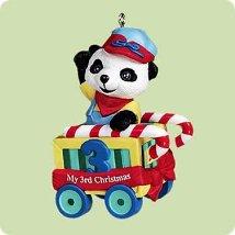 2004 Child's 3rd Christmas - Bear - SDB Hallmark Ornament