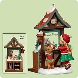 2004 Christmas Windows #2 - Club Hallmark Ornament