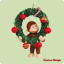 2004 Curious George - SDB Hallmark Ornament