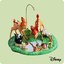 2004 Disney - Bambi And Friends Hallmark Ornament