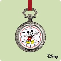 2004 Disney - Pocket Watch Hallmark Ornament