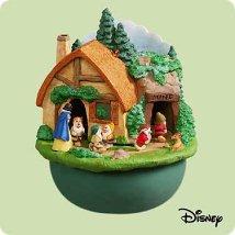 2004 Disney - Snow White - Music Hallmark Ornament