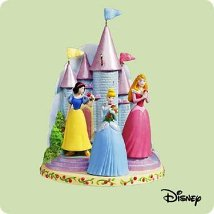 2004 Disney - Three Beautiful Princesses - SDB Hallmark Ornament