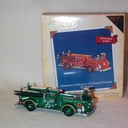 2004 Fire Brigade #2 - Am. Lafrance - Colorway - MIB Hallmark Ornament