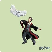 2004 Harry Potter And Hedwig - SDB Hallmark Ornament