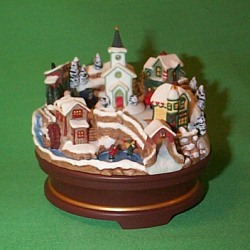2004 Joyful Christmas Village - Club Hallmark Ornament