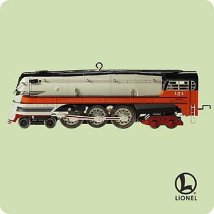2004 Lionel #9 - 1939 Hiawatha Steam - SDB Hallmark Ornament
