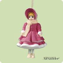 2004 Madame Alexander - Little Women #4f - Amy Hallmark Ornament