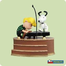 2004 Peanuts - Love To Dance Hallmark Ornament