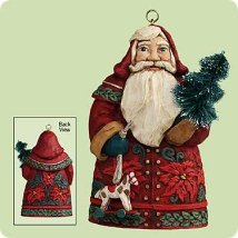 2004 Santas From Around The World - Germany - MNT Hallmark Ornament