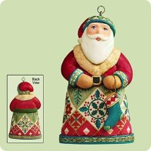 2004 Santas From Around The World - U.s. - MNT Hallmark Ornament