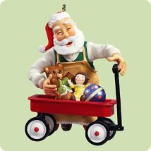 2004 Toymaker Santa #5 Hallmark Ornament