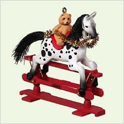 2005 A Pony For Christmas #8 Hallmark Ornament
