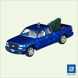 2005 All American Trucks #11 - 2003 Silverado Ss - MNT Hallmark Ornament