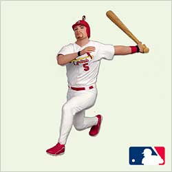 2005 Ballpark #10 - Albert Pujols - MNT Hallmark Ornament
