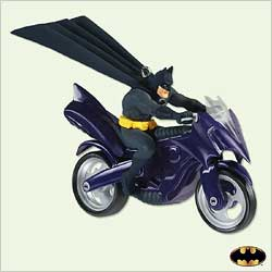 2005 Batman - Batcycle Hallmark Ornament