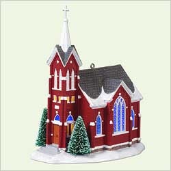 2005 Candlelight Services #8 - Central Church Hallmark Ornament
