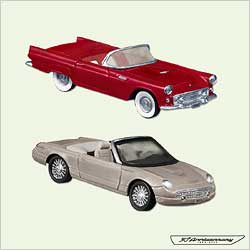 2005 Classic Cars - Ford T-bird Anniv Hallmark Ornament