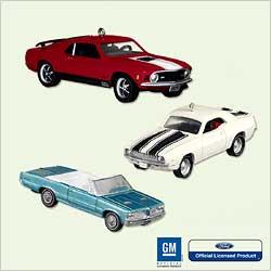 2005 Classic Cars - Muscle Cars - Club Hallmark Ornament