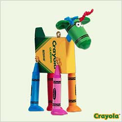 2005 Crayola - Reindeer Hallmark Ornament