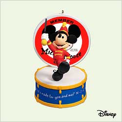 2005 Disney - 50 Years Of Music Hallmark Ornament