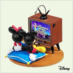 2005 Disney - Best Night Of The Week Hallmark Ornament