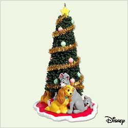 2005 Disney - Lady And The Tramp Hallmark Ornament